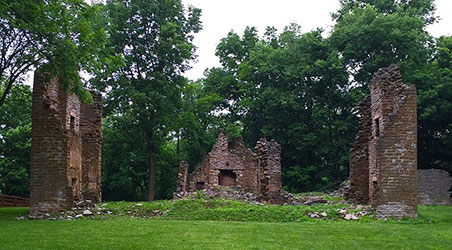 Valley View Farm - Original House Ruins